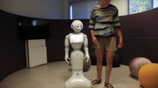 "[AI Lab] Pepper robot learning ""ball in a cup"""