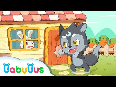 Bad Wolf Appears | Never Open Door to Strangers | Kids Safety Tips & Good Habits | BabyBus