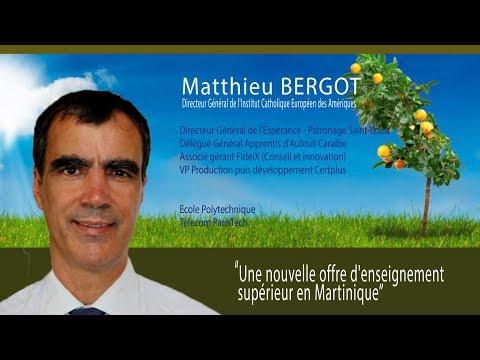 Matthieu BERGOT présente le projet ICEA aux chefs d'entreprise