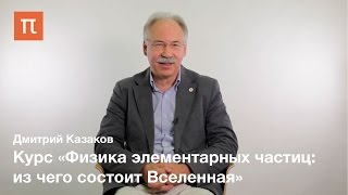 Дмитрий Казаков -  курс «Физика элементарных частиц: из чего состоит Вселенная»