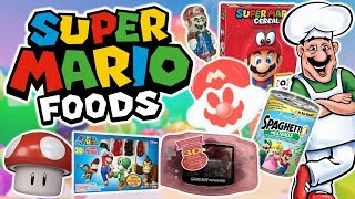 A Look at Nostalgic Super Mario Foods & Candies