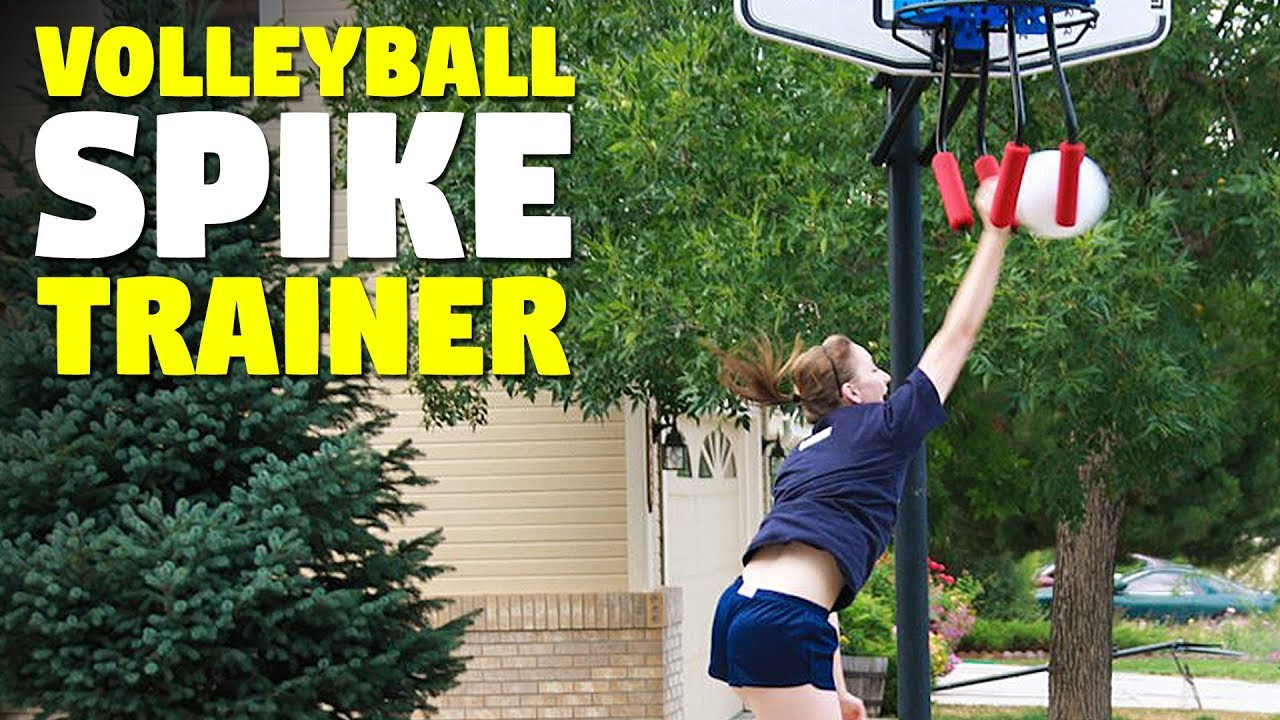 Volleyball Spike Trainer Volleyball Attack Training Equipment Youtube