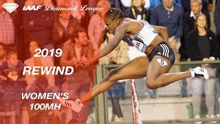 Women's 100m hurdles - IAAF Diamond League 2019