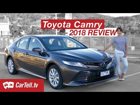 2018 Toyota Camry Review | CarTell.tv