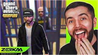 We Got Arrested And Put In Jail In GTA 5 RP!
