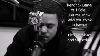 J. Cole V/S Kendrick Lamar : FreeStyle