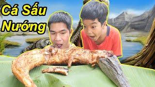 Nướng Nguyên Con Cá Sấu Siêu Cay | TQ97
