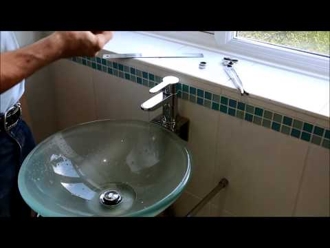 How to Fit a water saving tap aerator