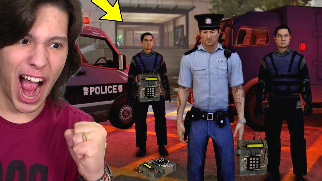 TIREI UMA BOMBA DE UM PRÉDIO - Jogando COMO POLICIAL DA CHINA!! (Sleeping dogs)