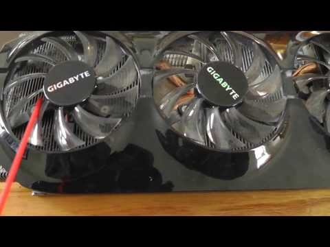 Cleaning HD Radeon 7870 with Compressed Air