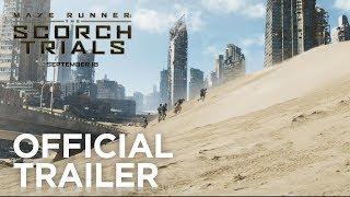 Maze Runner: The Scorch Trials | Official Trailer [HD] | 20th Century FOX