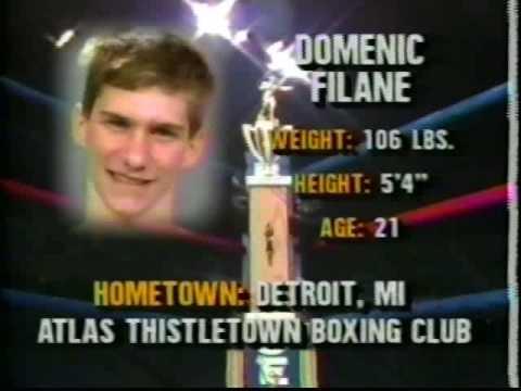 1990 Golden Gloves Tournament Championship