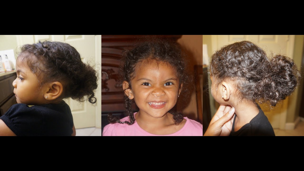 Simple Hairstyles for Girls 3A 3B