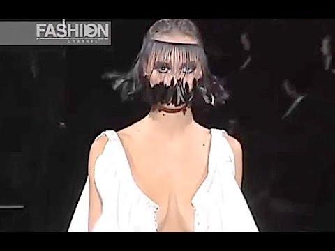 SCHERRER Haute Couture Spring Summer 2003 Paris - Fashion Channel