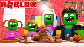 Zombie Roblox Family | School Morning Routine In Bloxburg