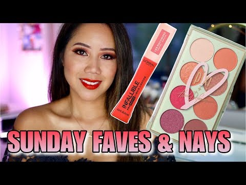 Weekly Beauty Favorites! Sunday Faves & Nays - PIXI X HEART DEFENSOR, L'OREAL LES MACARON thumbnail