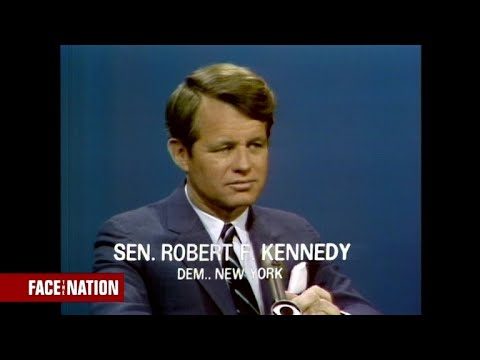 """From the archives: Robert F. Kennedy on """"Face the Nation"""" in 1967"""