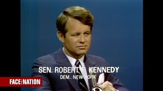 "From the archives: Robert F. Kennedy on ""Face the Nation"" in 1967"