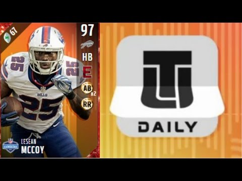 Daily Login Lesean McCoy | Player Review | Madden 17 Ultimate Team Gameplay