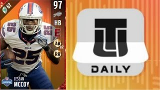 Daily Login Lesean McCoy   Player Review   Madden 17 Ultimate Team Gameplay