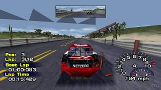 NASCAR Thunder 2004 PS1 Gameplay HD (ePSXe)