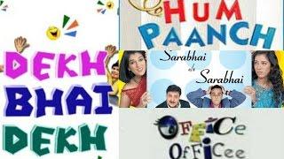 Top 10 Indian TV Shows│Sarabhai Vs Sarabhai, Hum Paanch