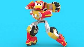 О, нет! Злой Робот украл сладости!   РобоСлияние - Супергерой спасает всех   Мультики для малышей