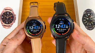 Samsung Galaxy Watch 3 (41mm & 45mm) Unboxing & First Impressions!