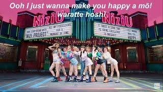 NiziU 'Make You Happy' Karaoke [Instrumental+Romanized Lyrics]