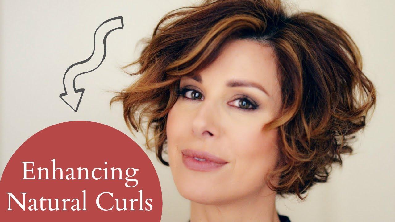 Enhancing Short Naturally Curly Hair Youtube