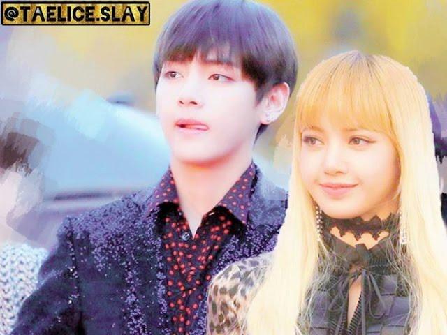 BTS Kim Taehyung & BLACKPINK Lisa - Heartbreak MV