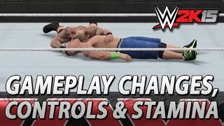WWE 2K15: New Gameplay Footage, Controls & Stamina Details!