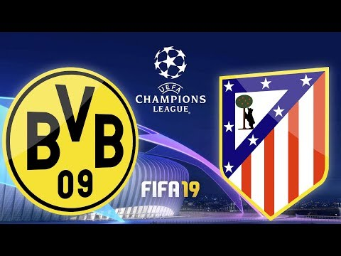 UEFA Champions League · BVB Borussia Dortmund – Atletico Madrid · Lets Play Fifa 19 PS4 · UCL #02