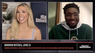 Donovan Mitchell on Five-Year Extension With Jazz, NBA Bubble and 2021 Season | Sports Illustrated