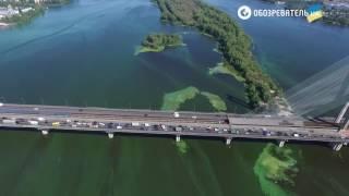 Страшно красиво: в Киеве зацвела вода в Днепре(, 2016-08-29T18:39:18.000Z)