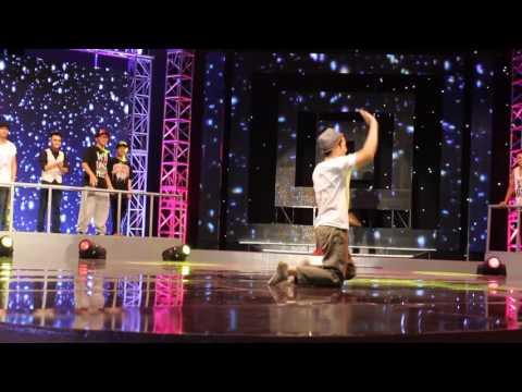 Vu Dieu Xanh _   One love 2013 _  Poping Final   Bin Pop (Winner) vs Baby T