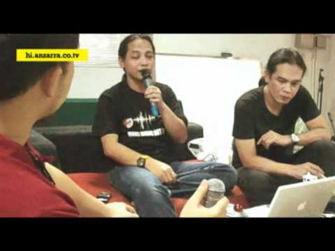 """Indra Q dan Pay Burman """"Rahasia Produksi Rekaman"""", JAPEX 20 Nov 2010"""