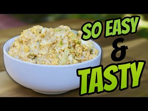 How To Make A Quick And Easy Egg Salad Recipe (THE PERFECT TASTY SNACK)