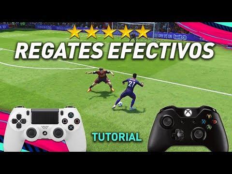 Los REGATES MÁS EFECTIVOS De FIFA 19!!! | TUTORIAL
