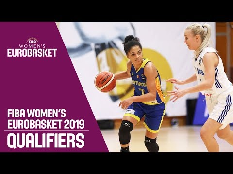 Finland v Romania - Full Game - FIBA Women's EuroBasket 2019 Qualifiers
