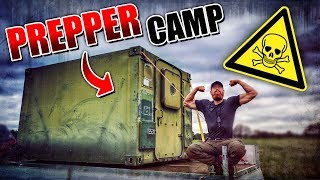 CONTAINER GEKAUFT! Prepper Camp #001 | Fritz Meinecke