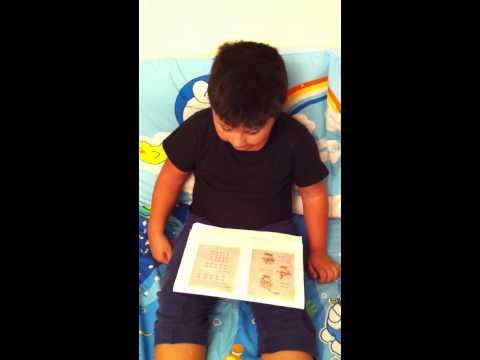 โทนี่ฝึกอ่านภาษาไทย