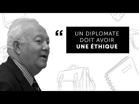 """Prof. #31 Miguel Ángel Moratinos """"Un diplomate doit avoir une éthique"""" - Sciences Po"""