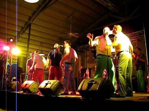 The Swingin' Medallions performing
