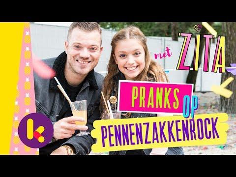 Pranks op Pennenzakkenrock met Zita