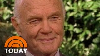 John Glenn In 1998 TODAY Interview: 'I Don't Think I'm That Different' | Flashback | TODAY
