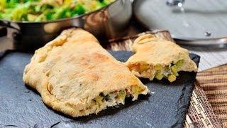 Calzone vegetariano – Vegetarian Calzone