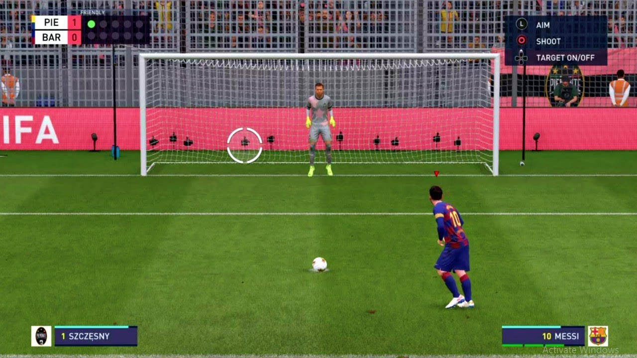Barcelona VS Juventus FIFA 2020 Penalty Shootouts FIFA 20 ...