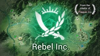 Rebel Inc iOS 1st mission 'Saffron Fields' on casual