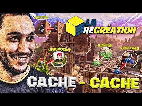 LA RÉCRÉATION : CACHE-CACHE GEANT AVEC TOUT SOLARY + LEBOUSEUH